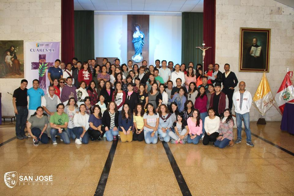 COMUNIDAD EDUCATIVA DEL SAN JOSÉ VIVIÓ EJERCICIOS ESPIRITUALES