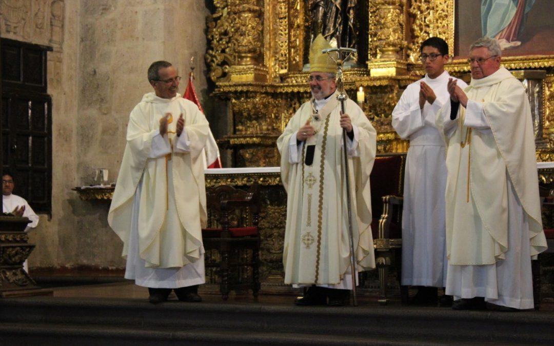 MISA POR LOS 450 AÑOS DE LOS JESUITAS EN EL PERÚ
